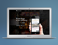 Watchrr | App Landing Page Design