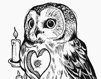 Aware Owl.