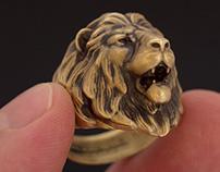 """""""Lion"""" ring"""