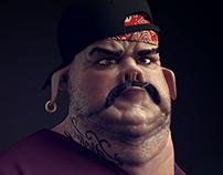 Gangsta Pig