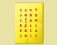Sant Jordi també llegia // St. George also read