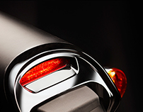 Custom Harley-Davidson tail light