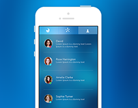 Chat App - Sample Design
