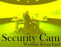 Security Webcam Website Front End