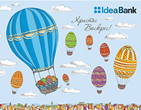Flash Easter Greating Card for IdeaBank
