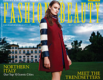 Fashion&Beauty Magazine Cover, Issue 7 Oct/ Nov 2014