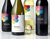 Seven Daughters Wine Label & Packaging