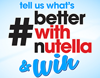 #BetterWithNutella