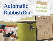 Automatic Rubbish Bin - Product Design