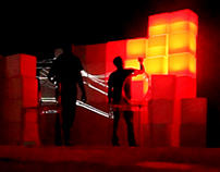 Cubes Projection Mapping