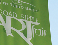 2011 Broad Ripple Art Fair Banners