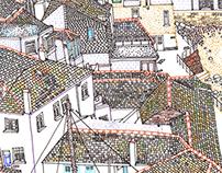 Sketch book : Travel illustrations