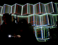 "Video Mapping Cubic Houserepublic ""Natia"""
