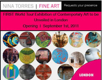 World Tour of Contemporary Art - London Exhibition