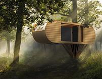 Cocoon, Custom Tree House.