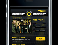 Western Union ConcertConnect iPhone App