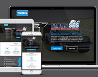 Timbren SES Landing Page