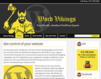 Word Vikings Website Design + Development