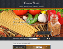 Sonoma Alfresco Website Design