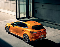 Renault MEGANE RS 2017 with P. Curtet
