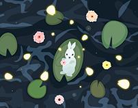 Floating Bunny