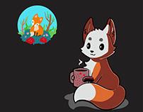 Design fox in illustrator