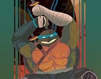 TMNT - Out of the Shadows - Leonardo Skate Deck
