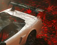 HONDA NSX R GT full CGI project