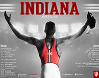 IU Athletics' Posters