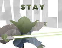 Agile Yoda poster