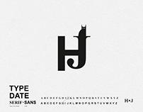 TYPE DATE: serif ♥ sans