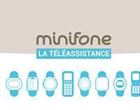Landing page for minifone