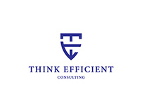 Think Efficient Consulting — Logo Design for contest