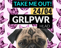 TAKE ME OUT! posters 2013/2014