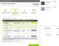 Mejora UX : Despacho - Pago Falabella.com