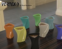 Product Design for 3D printing: Vortex 7 Cup 2013