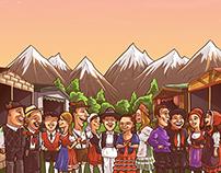 Fiesta de las Colectividades Europeo-Argentina 2014