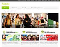 Sitio Web Responsabilidad Social Falabella.com