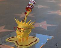 """3D Sculpting: """"Instant Andy"""" 2013"""