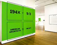 Museum of Modern Art, Exhibition Graphics
