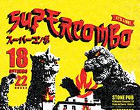 Supercombo - Gig poster Vitória