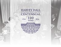 Harvey Hall Centennial Identity