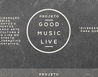 Projeto Good Music Live - Poster