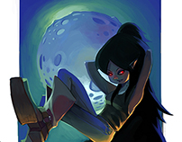 Marceline queen of the vampires