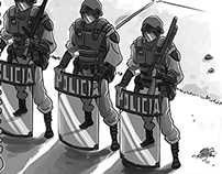 Manifestations in Brazil