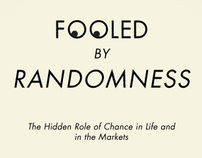Redesign Bookcover: Fooled by Randomness by N. N. Taleb