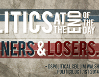 DSPolitical, Select Newsletter Banners