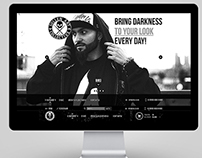 Internet shop design for «Sullen Clothing»