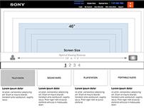 Sony Electronics Sales Tool.