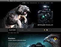Olympus - Stylus SP-100EE - Productpage